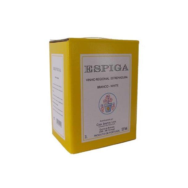 Espiga - 3. ltr. Bag-in-Box - Hvid