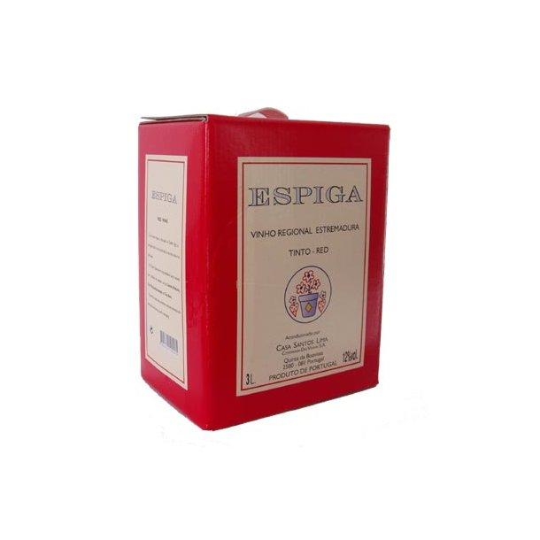 Espiga - 3. ltr. Bag-in-Box - Rød
